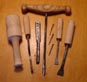 Chisels, Mallet and Drill