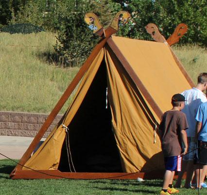 Lodin's Oseberg Tent