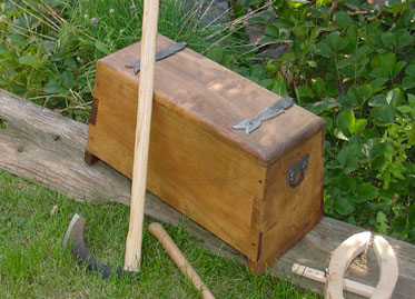 Birch Viking Chest
